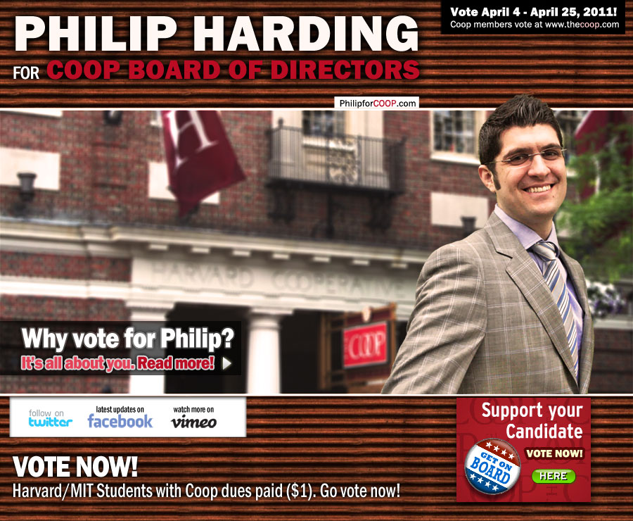 Philip Harding for Harvard / MIT COOP